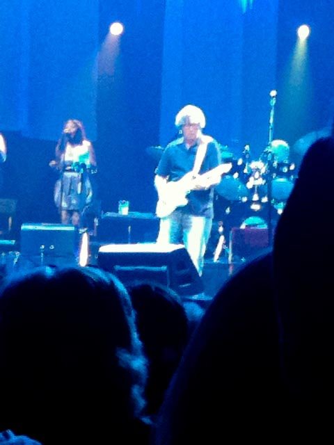 Eric Clapton Vegas