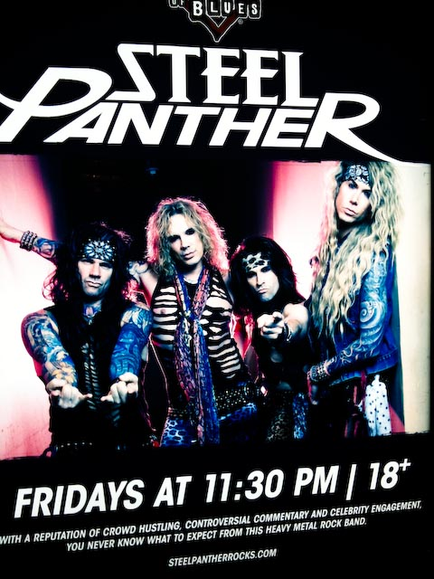 Steel Panther Band Poster