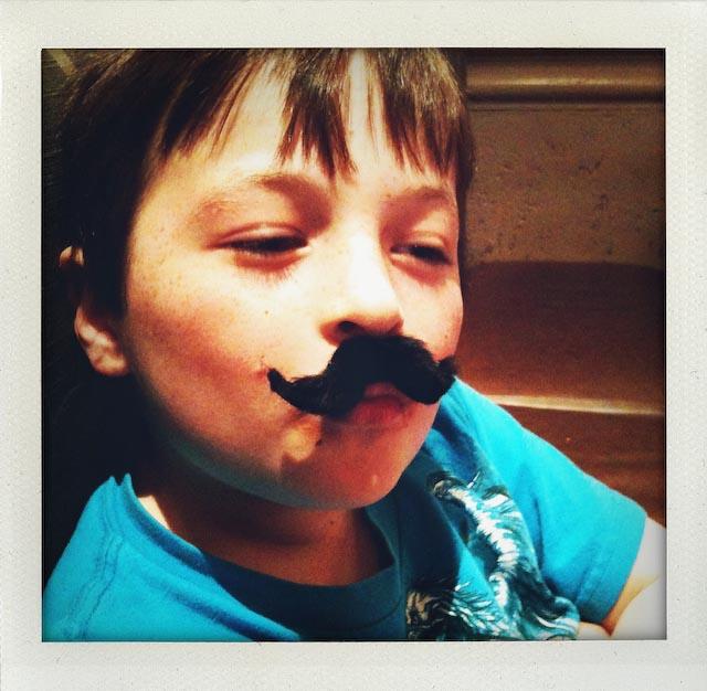 Stick On Mustache